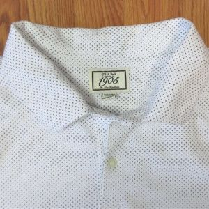JOS. A. BANK TAILORED FIT COTTON/SPANDEX SHIRT